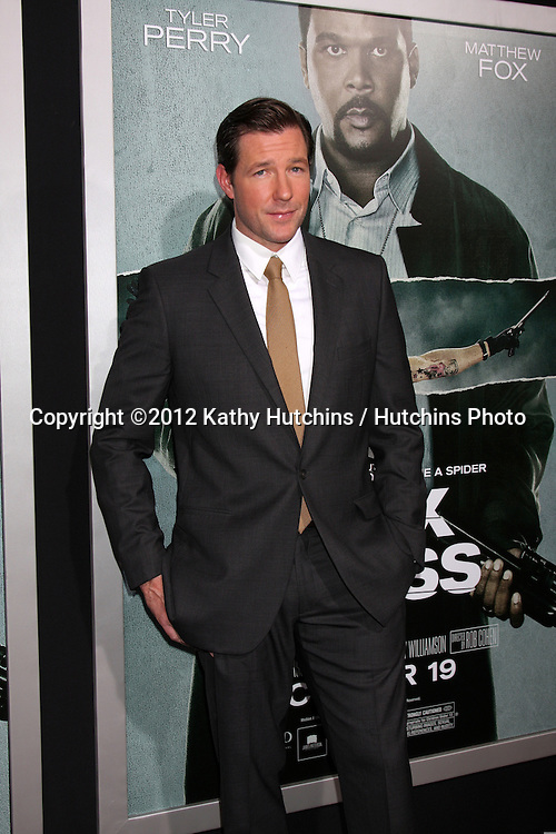 "LOS ANGELES - OCT 15:  Edward Burns arrives at the ""Alex Cross"" Premiere at ArcLight Cinemas Cinerama Dome on October 15, 2012 in Los Angeles, CA"