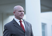 United States National Security Advisor, US Army Lieutenant General H. R. McMaster, makes a statement at the White House in Washington, DC refuting a Washington Post article alleging that US President Donald J. Trump shared secret information with the Russian Foreign Minister and Ambassador during their recent meeting, May 15, 2017. <br /> Credit: Chris Kleponis / Pool via CNP