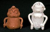 Bonecos de cerâmica, artesanato paraense. Foto de João Caldas.