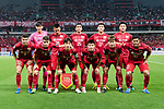 Shanghai SIPG squad pose for team photo during the AFC Champions League4 2017 Round of 16 match between Shanghai SIPG FC (CHN) vs Jiangsu FC (CHN) at the Shanghai Stadium on 24 May 2017 in Shanghai, China. Photo by Marcio Rodrigo Machado / Power Sport Images