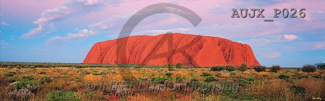 Dr. Xiong, LANDSCAPES, panoramic, photos, Uluru, Australia(AUJXP026,#L#)