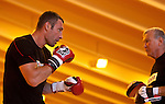 23.08.2011, Stanglwirt, Going, AUT, Vitali Klitschko, Training, im Bild Trainer Fritz Sdunek und Vitali Klitschko im Ring // during a trainingssession at Hotel Stanglwirt in Going, Austria on 23/8/2011. EXPA Pictures © 2010, PhotoCredit: EXPA/ J. Groder