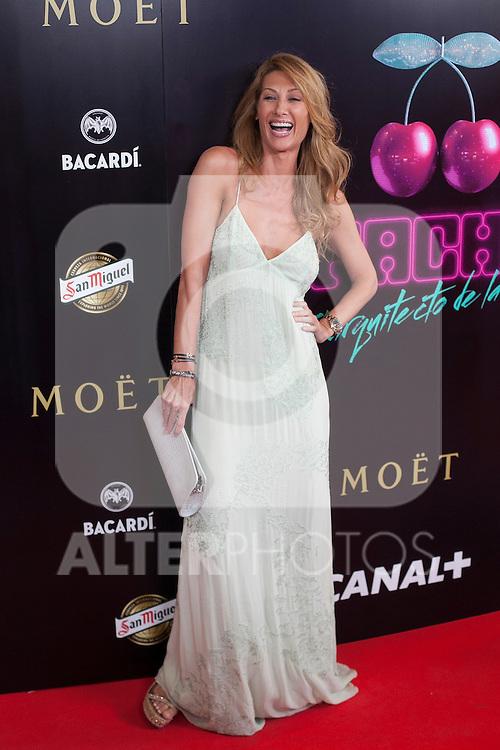 Monica Pont poses during Pacha `El arquitecto de la noche´ film premiere in Madrid, Spain. May 25, 2015. (ALTERPHOTOS/Victor Blanco)