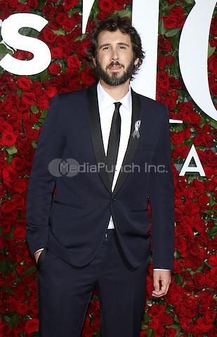 NEW YORK, NY-June 12: Josh Groban at the 70th Annual Tony Awards at the Beacon Theatre in New York. NY June 12, 2016. Credit:RW/MediaPunch