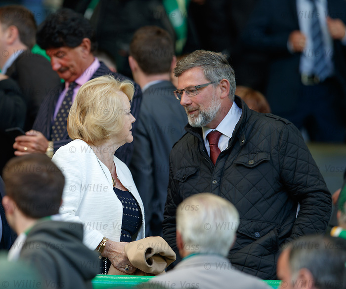 Ann Budge and Craig Levein
