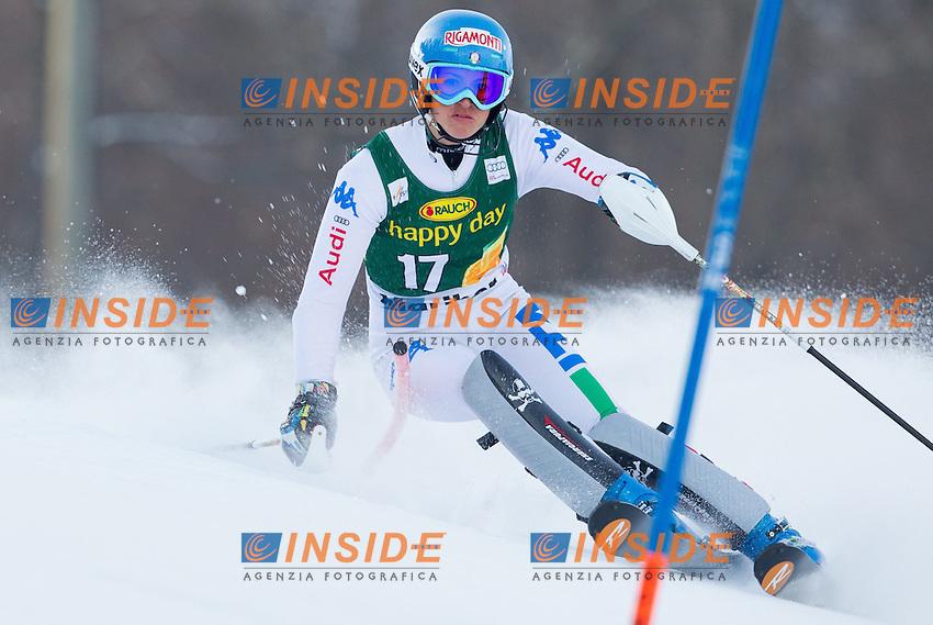 CURTONI Irene.27.01.2013, Pohorje, Maribor, .Sci Slalom Speciale Donne .Foto EXPA/ Sportida/ Vid Ponikvar/Insidefoto.ITALY ONLY
