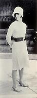Technology: Louise Brooks, 1927. Silent film star.