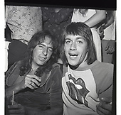 Alice Cooper; Iggy Pop: 1974<br /> Photo Credit: James Fortune/AtlasIcons.com