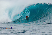 CLOUDBREAK, Tavarua/Fiji (Friday, June 8, 2012) stephan figuieredo (BRA). -  The best day of paddle surfing ever seen at Cloudbreak happen today with the swell in the12'-15' range from the south.  The surf pumped all day with amazing performances from of the world best big wave paddle in surfers. The Volcom Fiji Pro completed the last two heats of Round Two with Bede Durbidge and Kai Otten advancing before being call off for the day. Photo: joliphotos.com
