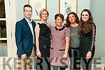 Staff & customers of Harnett's Pharmacy, Listowel l enjoying their Christmas party at The Listowel Arms Hotel on Saturday night last. L-R : Fergal & Norma Sheridan, Elaine Halpin, Helena Carey & Aoife Shine.