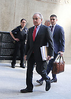 NEW YORK, NY July 09, 2018 Benjamin Brafman attorney for Harvey Weinstein arriving to  Criminal Court after additional  new charges lodged against him  at 100 Center St in New York. July 09, 2018 <br /> CAP/MPI/RW<br /> &copy;RW/MPI/Capital Pictures