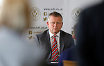 130516 Chris Wilder Sheffield Utd manager