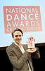 The Critics' Circle National Dance Awards 2015 <br /> at The Place, London, Great Britain <br /> 25th January 2016 <br /> <br /> <br /> <br /> <br /> EMERGING ARTIST AWARD <br /> Matthew Ball (Dancer &ndash; The Royal Ballet) <br /> <br /> <br /> Photograph by Elliott Franks <br /> Image licensed to Elliott Franks Photography Services