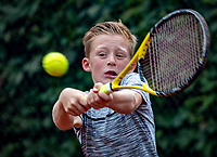 Hilversum, Netherlands, August 8, 2018, National Junior Championships, NJK, Job Weening (NED)<br /> Photo: Tennisimages/Henk Koster