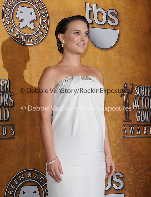 Natalie Portman attends the 17th Annual Screen Actors Guild Awards held at The Shrine Auditorium in Los Angeles, California on January 30,2011                                                                               © 2010 DVS / Hollywood Press Agency