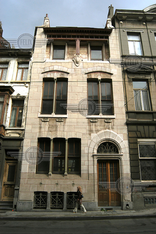 Maison Autriche a good example of Art Deco architecture in Brussels..