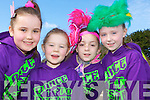 Rathmore disco dancers at the Killarney St Patricks parade on Thursday l-r: Hannah Reen, Mia Kate reen, Sarah Casey and Lauren O'Leary