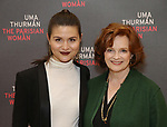 Phillipa Soo and Blair Brown attends the Meet & Greet Photo Call for the cast of Broadways 'The Parisian Woman' at the New 42nd Street Studios on October 18, 2017 in New York City.