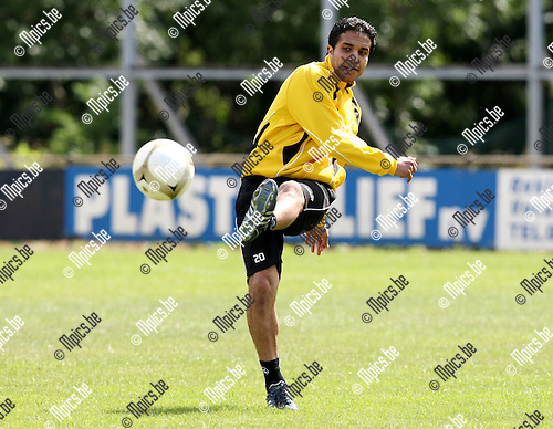 2010-06-19 / Voetbal / seizoen 2010-2011 /  Eerste training SK Lierse / Mohamed Abdel Wahed..Foto: mpics
