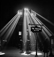 Shedding Light: In the waiting room of the Union Station. Chicago, Illinois. January 1943.<br /> <br /> Photo by Jack Delano.