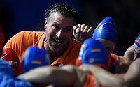 Arno Havenga coach of the Netherlands <br /> Firenze 19-11-2019 Piscina Nannini <br /> water polo Women's World League <br /> Italy ITA - Nederland NED <br /> Photo Andrea Staccioli/Deepbluemedia/Insidefoto