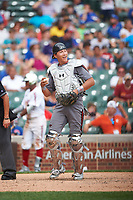 Christopher Troye (15) of Heritage High School in Brentwood, California during the Under Armour All-American Game presented by Baseball Factory on July 23, 2016 at Wrigley Field in Chicago, Illinois.  (Mike Janes/Four Seam Images)