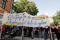 Roma, 6 Maggio 2017<br /> Celio Azzurro<br /> &nbsp;Roma non si vende, corteo dei movimenti per il diritto all'abitare,  cooperative sociali  comitati di territoriali, contro la privatizzazione, la vendita di beni pubblici, il taglio dei servizi sociali, gli sfratti e le politiche della sindaca Virgina Raggi.
