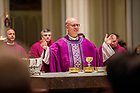 December 2, 2018; First Sunday of Advent, Rite of Full Communion and Confirmation led by Bishop Kevin Rhoades of the Diocese of Fort Wayne-South Bend. (Photo by Peter Ringenberg/University of Notre Dame)
