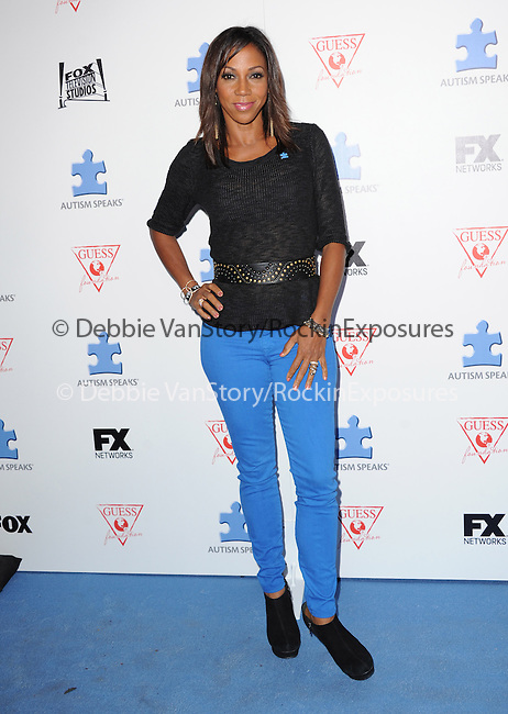 Holly Robinson Peete attends The Autism Speaks 3rd Annual Blue Jean Ball held at Boulevard 3 in Hollywood, California on October 24,2012                                                                               © 2013 Hollywood Press Agency