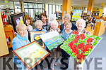 Members of various Tralee Probus groups from the Tralee area are preparing for their Arts and Crafts Exhibition, part of the Bealtaine Festival, which will be launched on Tuesday May 12th at 7pm. Pictured were: Monica Fitzell, Breda Hurley, Rita O'Connell, Marita Corcoran (Tralee library), Phil Hussey, Mary O'Donnell, Noirín O'Keeffe (Tralee library) and Celine Slattery.