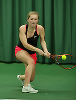 Rotterdam, The Netherlands, March 18, 2016,  TV Victoria, NOJK 14/18 years, Jacky Hesselberth (NED)<br /> Photo: Tennisimages/Henk Koster