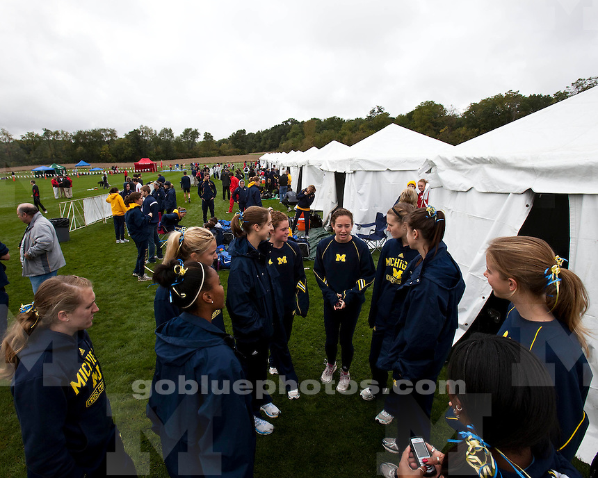 Michigan at the 2009 Wisconsin adidas Invitational at the Thomas Zimmer Championship Cross Country Course in Madison, Wis., Oct. 2, 2009. (Photo @ Andy Manis)