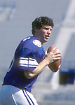 JUN 83-P0<br /> <br /> 8 Steve Young. <br /> <br /> June 1983<br /> <br /> Photo by Mark Philbrick/BYU<br /> <br /> &copy; BYU PHOTO 2009<br /> All Rights Reserved<br /> photo@byu.edu  (801)422-7322
