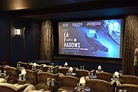 """NEW YORK - OCTOBER 30: Signage and atmosphere (screening room) at the screening of National Geographic Documentary Films """"Sea of Shadows"""" and """"Lost and Found"""" on October 30, 2019 in New York City. (Photo by Anthony Behar/National Geographic/PictureGroup)"""
