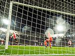 28.11.2019: Feyenoord v Rangers: Alfredo Morelos scores his first goal