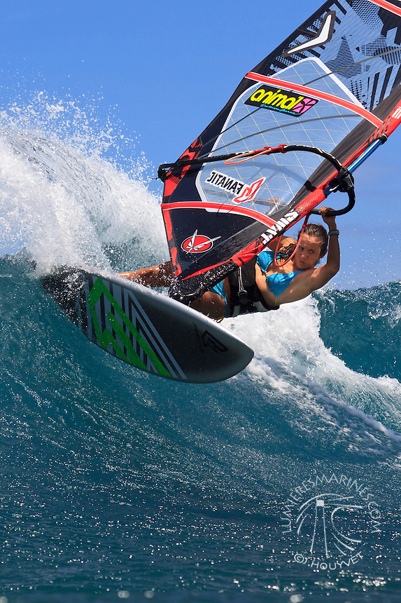 Windsurf à Hawaii.