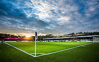 General view during the Pre-Season Friendly match between Wycombe Wanderers and Queens Park Rangers at Adams Park, High Wycombe, England on the 22nd July 2016. Photo by Liam McAvoy / PRiME Media Images.
