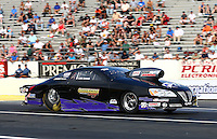 May 31, 2013; Englishtown, NJ, USA: NHRA pro stock driver Lee Zane during qualifying for the Summer Nationals at Raceway Park. Mandatory Credit: Mark J. Rebilas-