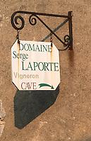 Domaine Serge Laporte. Chavignol, Sancerre, Loire, France