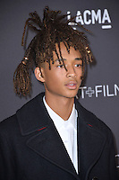 LOS ANGELES, CA. October 29, 2016: Actor Jaden Smith at the 2016 LACMA Art+Film Gala at the Los Angeles County Museum of Art.<br /> Picture: Paul Smith/Featureflash/SilverHub 0208 004 5359/ 07711 972644 Editors@silverhubmedia.com