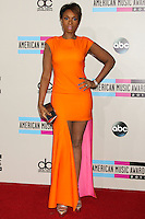 LOS ANGELES, CA - NOVEMBER 24: Jennifer Hudson arriving at the 2013 American Music Awards held at Nokia Theatre L.A. Live on November 24, 2013 in Los Angeles, California. (Photo by Celebrity Monitor)