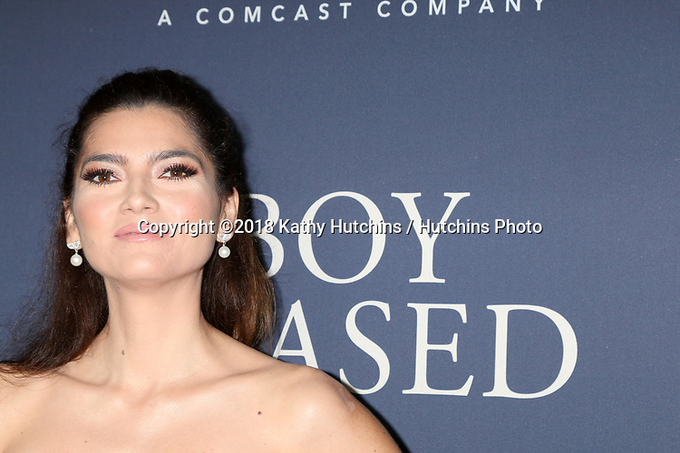 """LOS ANGELES - OCT 29:  Blanca Blanco at the """"Boy Erased"""" Premiere at the Directors Guild of America Theater on October 29, 2018 in Los Angeles, CA"""