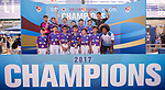 The U-12 Junior Cup Final, part of the HKFC Citi Soccer Sevens 2017 on 28 May 2017 at the Hong Kong Football Club, Hong Kong, China. Photo by Marcio Rodrigo Machado / Power Sport Images