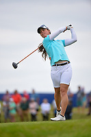 Nuria Iturrioz (ESP) watches her tee shot on 2 during the round 3 of the KPMG Women's PGA Championship, Hazeltine National, Chaska, Minnesota, USA. 6/22/2019.<br /> Picture: Golffile | Ken Murray<br /> <br /> <br /> All photo usage must carry mandatory copyright credit (© Golffile | Ken Murray)
