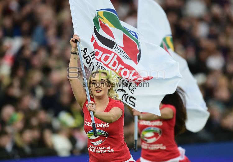 Picture by Alex Broadway/SWpix.com - 13/11/2016 - Rugby League - 2016 Ladbrokes Four Nations - England v Australia - The London Stadium, London, England - The Brief.