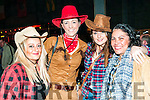 Charity Barn Dance: Pictured at the charity barn dance in aid of Fr. Jerry Browne's South African mission held on Donal Browne's farm, Mountcoal, Listowel on Saturday nigh last were Emma Joy, Karina Lynn, Rebecca Stapelton & Katie O'Callaghan.