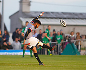 9th September 2017, Galway Sportsground, Galway, Ireland; Guinness Pro14 Rugby, Connacht versus Southern Kings; Kurt Coleman gets the game under way for the Southern Kings