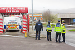 GARDAI are investigating the circumstances of  the death of a man, aged in his 40s whose body was discovered,by a member of the public at 6.30am on Good Friday at the car wash in Kelliher's Garage Rathass.