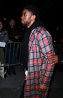 NEW YORK, NY February 12, 2018: Chadwick Boseman  attend  Marvel Studios Black Panther Welcome To Wakanda New York Fashion Week Showcase at   Industria Studios in New York. February 12, 2018. Credit:RW/MediaPunch