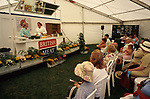 British meat - cooking  display.<br />